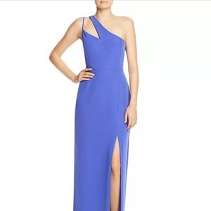 Laundry by Shelli Seagall One-Shoulder Gown